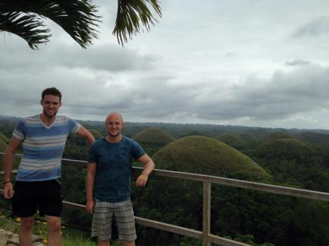 The famous Chocolate Hills!