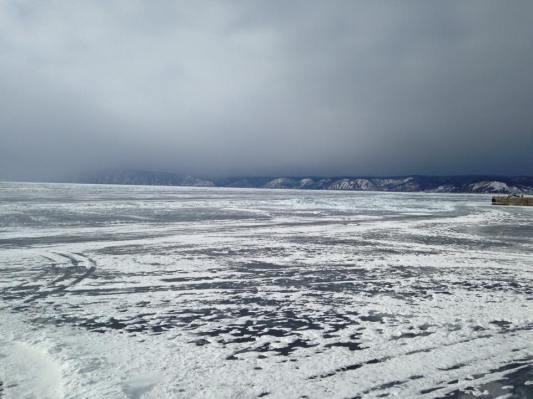 Lake Baikal from Listvyanka: stunning!