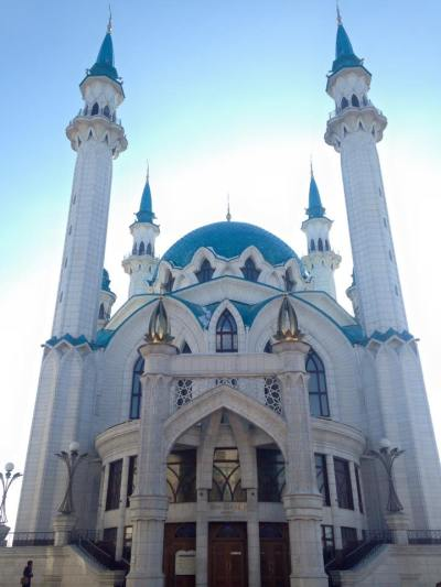 Kazan Kremlin: just one of countless impressive structures I've seen in Russia!