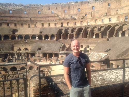 The Colosseum - as incredible as it looks.