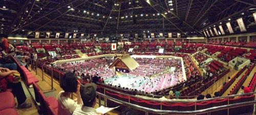 The Ryogoku Kokugikan is quite the arena!