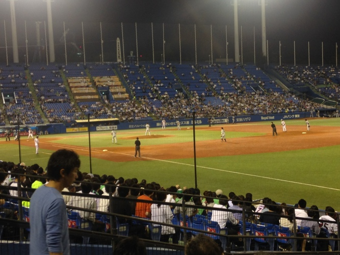 Baseball: one of the most popular sports in Japan!