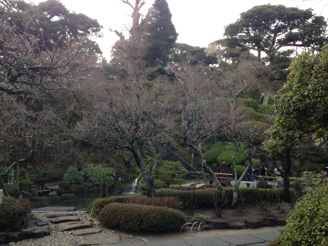 As good a photo as I could manage from outside Hasedera Temple!