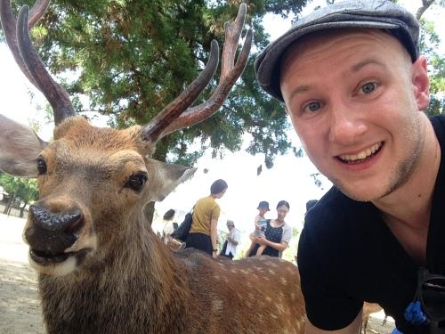 When in Nara...