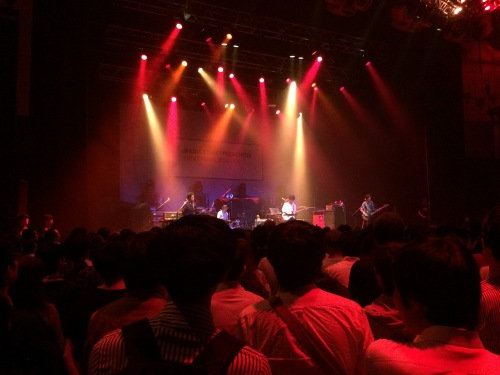 Support act Grapevine were pretty decent and - so I've been told - already quite a big band in Japan.