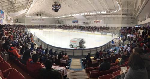 The Dydo Drinco Arena. Tokyo's answer to Madison Square Garden.