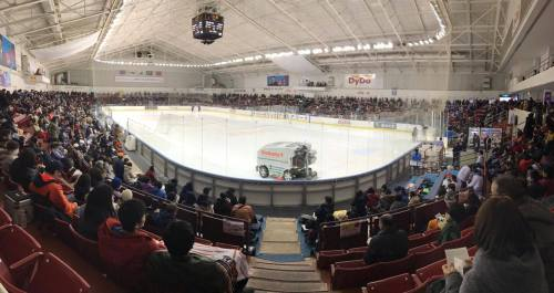 The Dydo Drinco Arena. Tokyo's answer to Madison Square Garden.