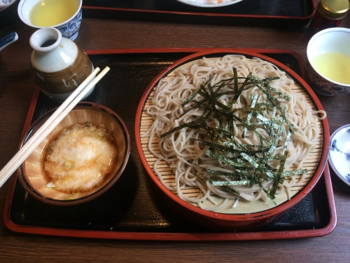 Not too dissimilar to every other plate of soba I've ever tasted.