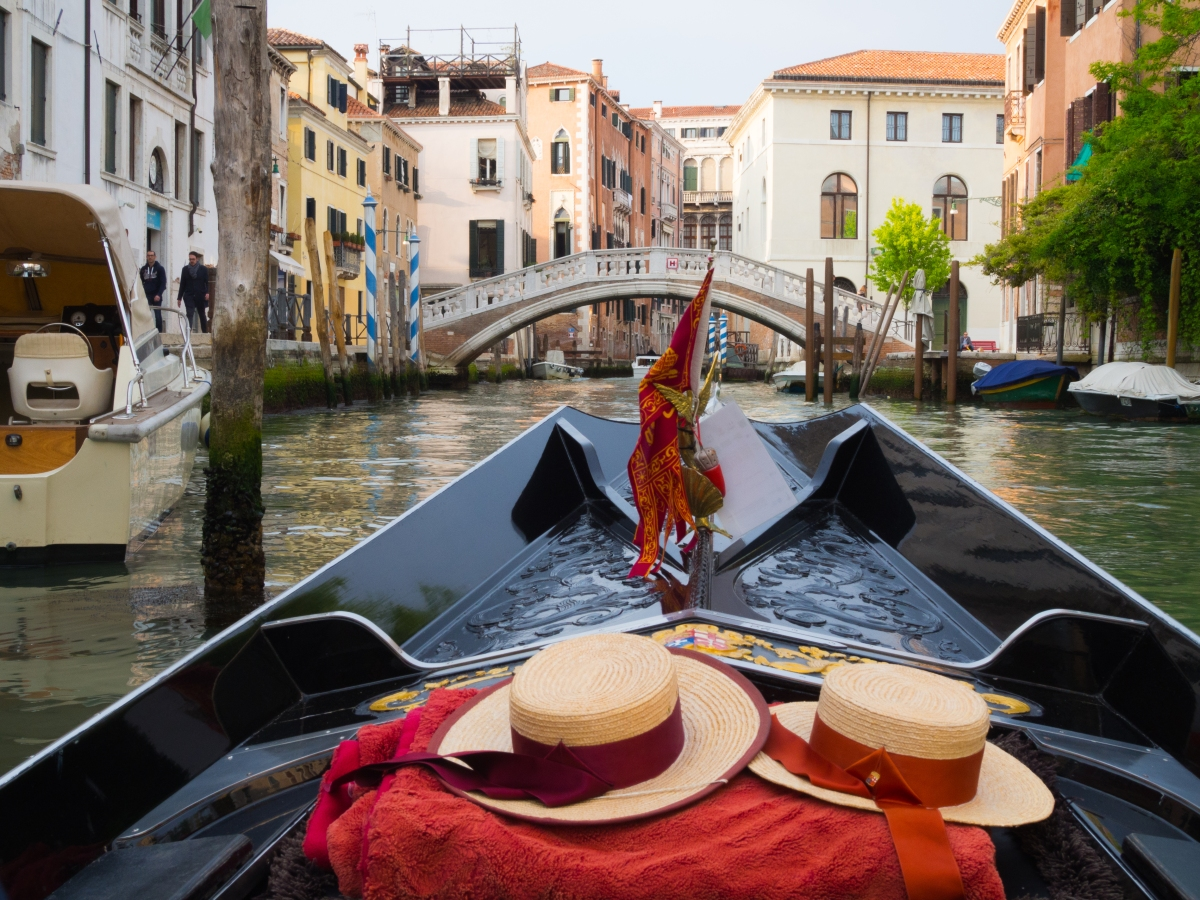 A Gondola Ride Through Venice